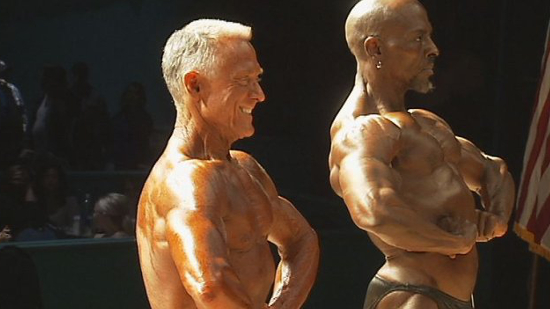 Competitive bodybuilders are also grandfathers