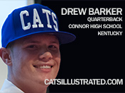 Connor High QB Drew Barker Choses Kentucky