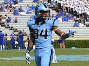 Bug Howard's first Tar Heel TD
