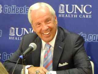 UNC Media Day: Roy Williams