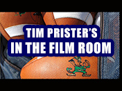 In the film room...Justin Hilliard