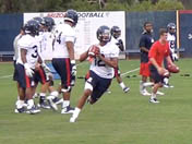 Arizona fall camp - Aug. 3 (QBs)