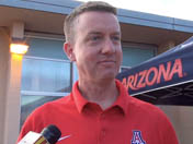 Greg Byrne at Arizona road tour in Sierra Vista