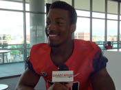 Samajie Grant talks first fall camp, freshman year