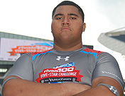 Damien Mama at the Rivals100 Five Star Challenge