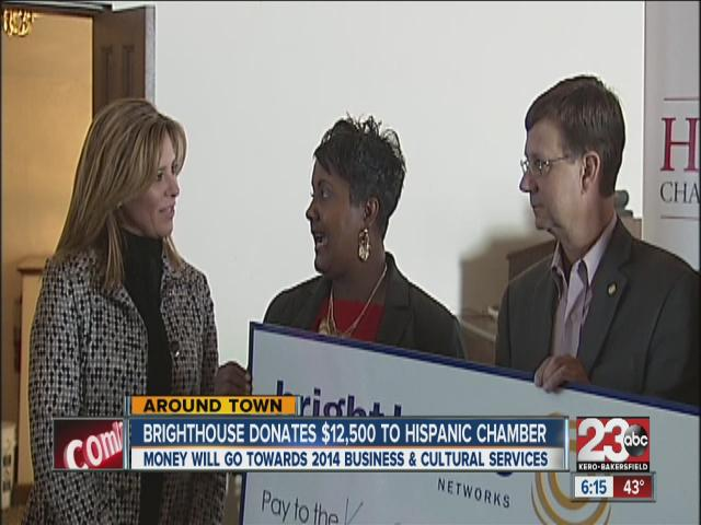 Brighthouse donates $12,500 to Hispanic Chamber of Commerce