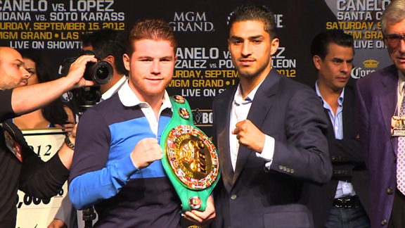 Canelo Alvarez is quickly becoming one of the biggest draws in boxing. (AP)