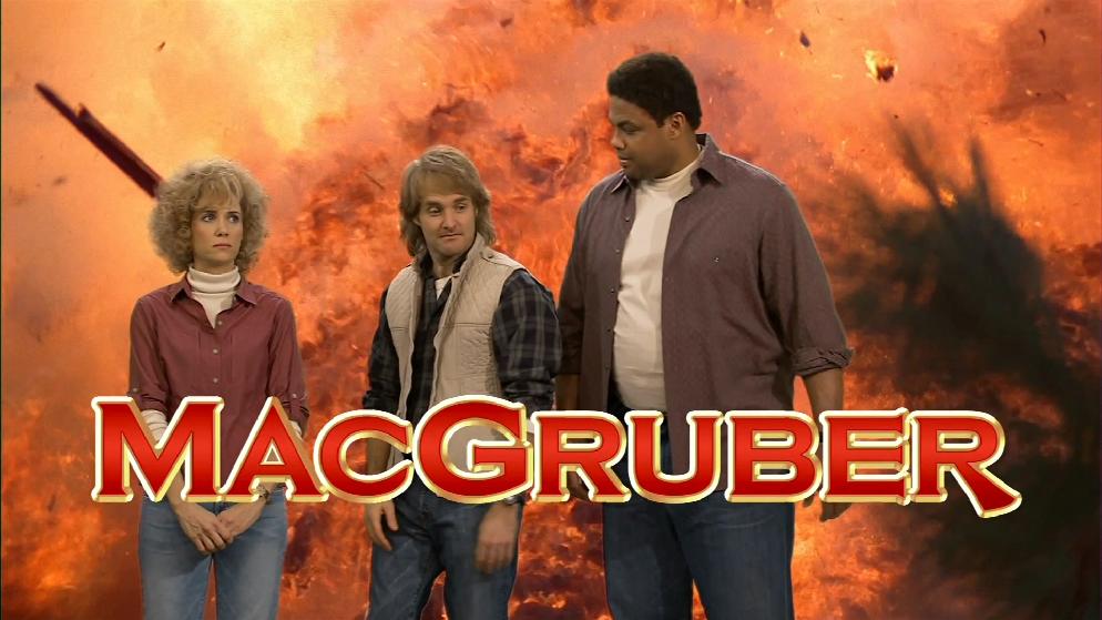 Macgruber skits
