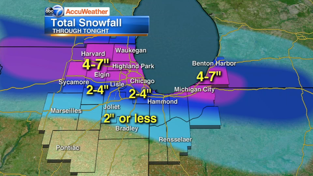 Chicago Weather: Winter Storm Warning issued for city, suburbs