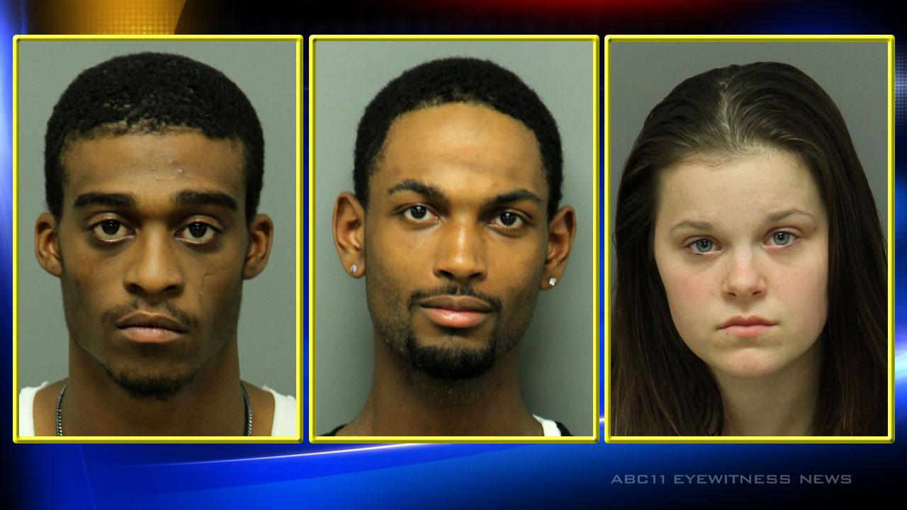 Three arrested in north Raleigh murder