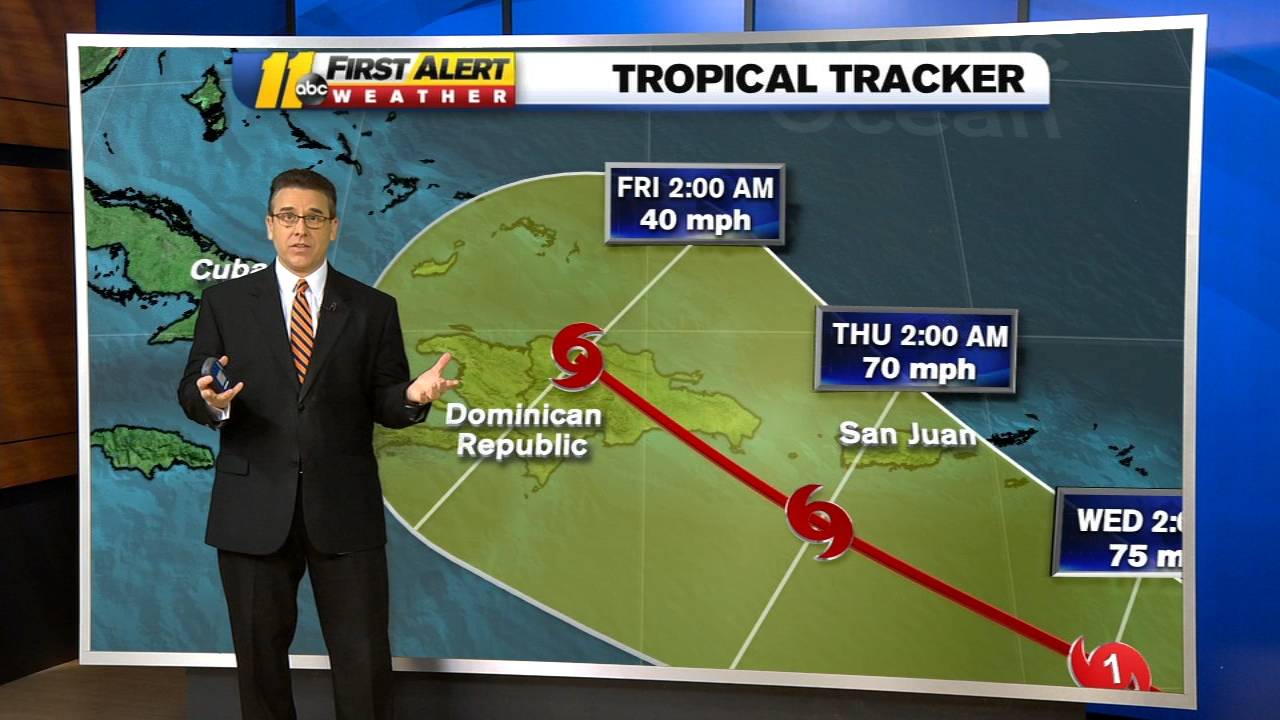 Tropical Weather: Atlantic system could become depression; NC not in forecast path, could see other storms