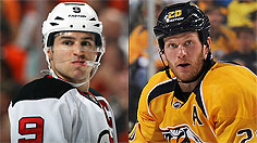 The Penguins can take a run at the top two UFAs on the market, Zach Parise and Ryan Suter. (Getty)