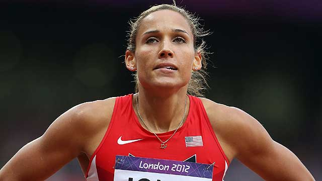 Lolo Jones did not medal in the women's 100-meter hurdles and Dan O'Brien says that's not a shock.