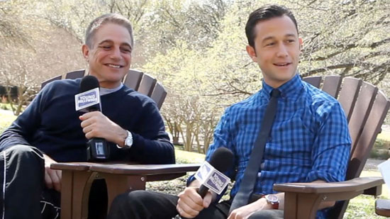 Joseph Gordon-Levitt and Tony Danza Get Provocative