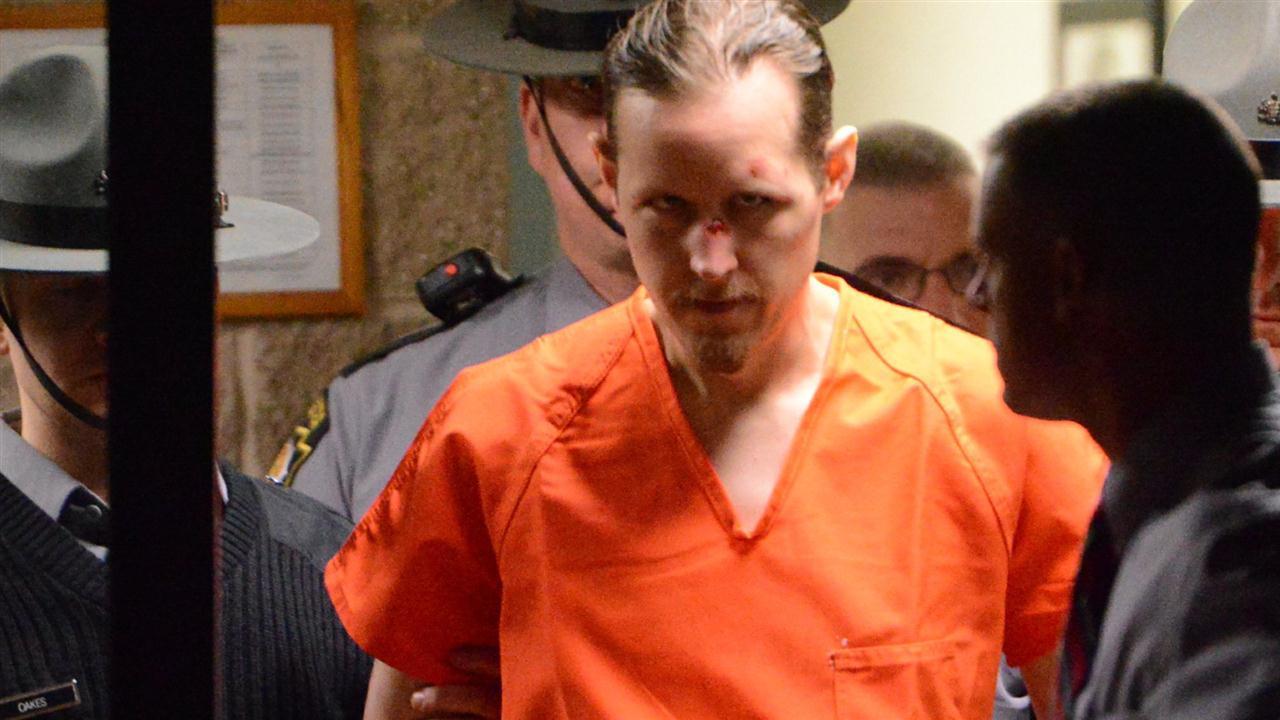 Sniper Eric Frein in court: Found at Poconos airplane hangar