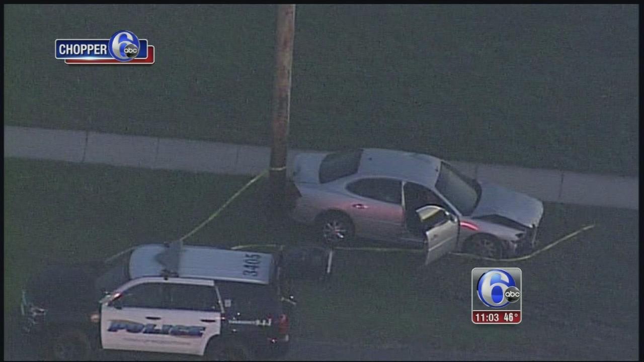 Person shot, injured in crash in Middletown