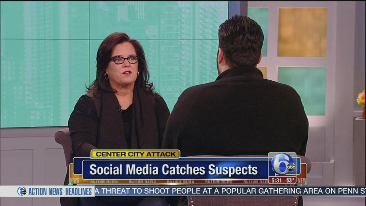 Twitter user who helped police catch suspects talks to The View