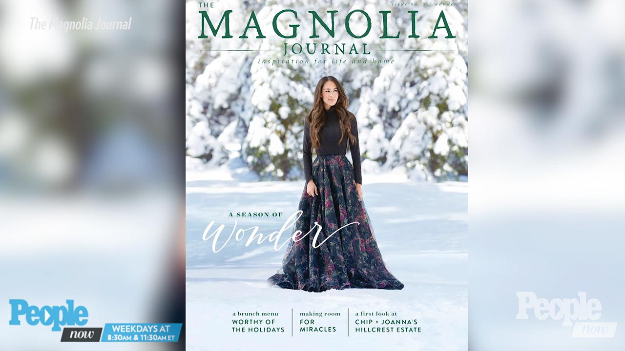 Joanna Gaines on What Really Happened on Her Snowy Magnolia Cover Shoot: 'I Was Slowly Sinking'