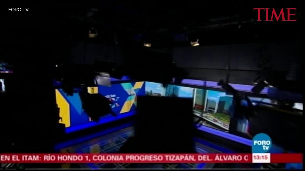 A Mexican TV News Station Caught the Moment the Powerful Quake Struck