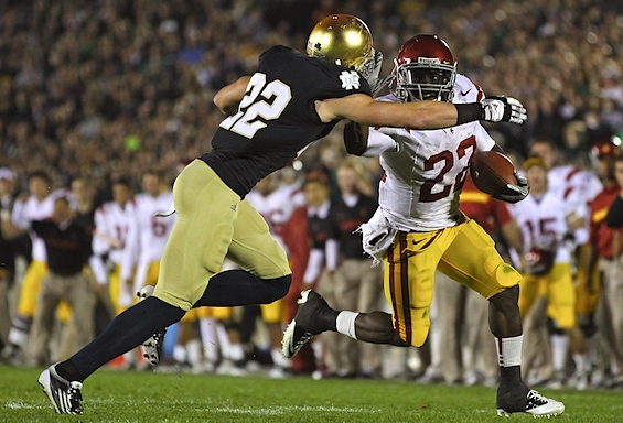 USC backs off trash talk, but Brian Kelly admits 'you get what you deserve'
