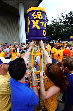 LSU creates its own brew for football season