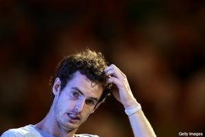 andy murray ao loss 11 head scratch