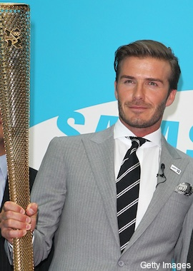 david bekcham torch