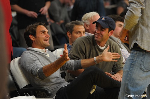 federer sampras this big lakers