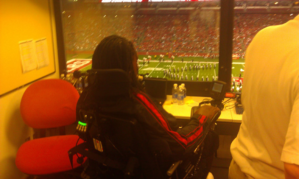 Eric LeGrand lives out dream, broadcasts first Rutgers game
