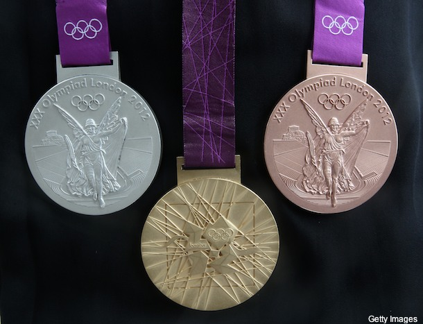 olympic medals london 2012