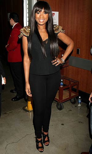 Jennifer Hudson at the Grammys in Los Angeles, February 13, 2011. - Arnold Turner/WireImage.com