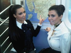 """On the 6!!!,"" tweeted Kim. - Twitpic"