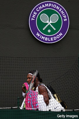 serena leaves wimb11