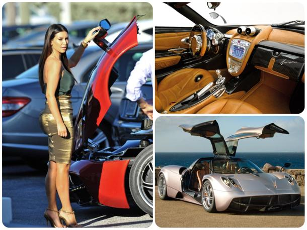 Kim Kardashian shops for the first $2 million Pagani Huayra in America