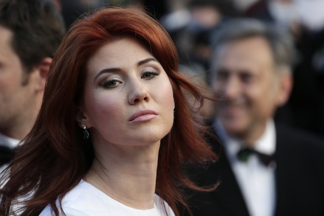 Russian Anna Chapman (AP Photo/David Azia)