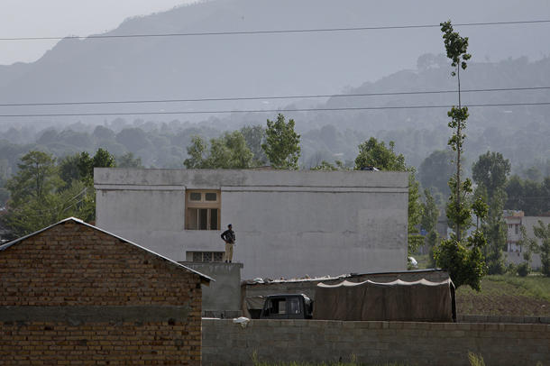 The compound where Osama bin Laden was reported to have been killed in Abbottabad May 4, 2011. REUTERS/Faisal Mahmood