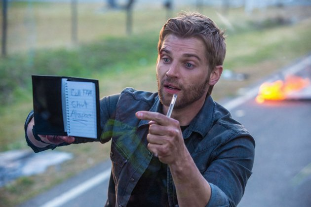 "Mike Vogel as Dale ""Barbie"" Barbara on ""Under the Dome."" (Photo by CBS)"