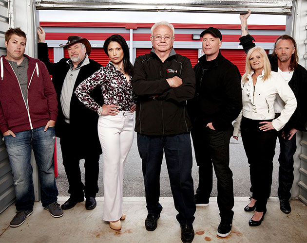 "The cast of ""Storage Wars Canada."" (OLN)"