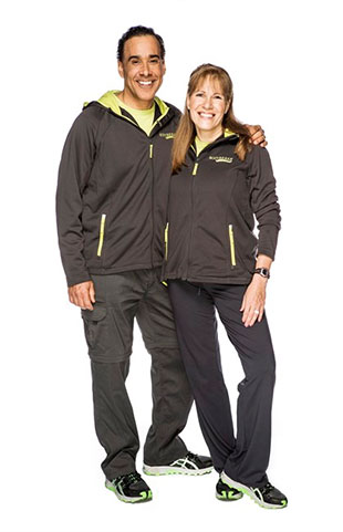 "Hal Johnson and Joanne McLeod will compete on ""Amazing Race Canada."" (CTV)"