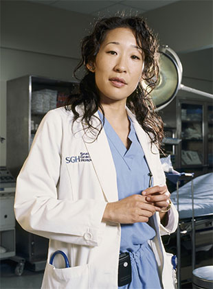 "Sandra Oh as Cristina Yang on ""Grey's Anatomy."" (ABC)"