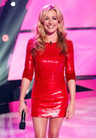 Deeley, sporting her beautiful smile on 'Dance' (Adam Rose/Fox)