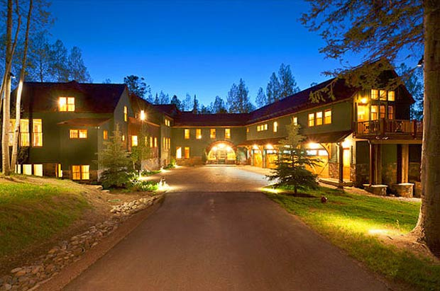 Jerry Seinfeld's 14,200-square-foot home in Telluride, Colorado, is valued at over $18 million. - Realtor.com