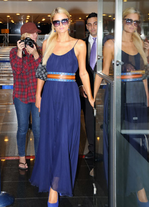 Paris Hilton traveled to Istanbul, Turkey to promote a new shoe line. - Splash News