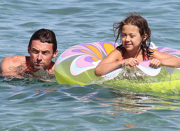 The Aussie actor is a dad to two kids, 6-year-old Ava and 11-year-old Oscar. - INFPhoto.com
