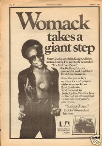 The Rock's Backpages Flashback: Bobby Womack Calls The Shots