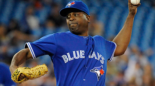 The Blue Jays were reportedly trying to deal Darren Oliver. (The Canadian Press)