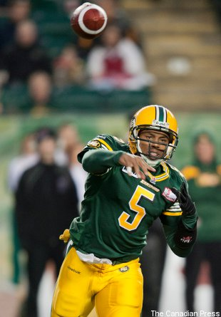 39-year-old quarterback Kerry Joseph led the Eskimos to a crucial win Friday.