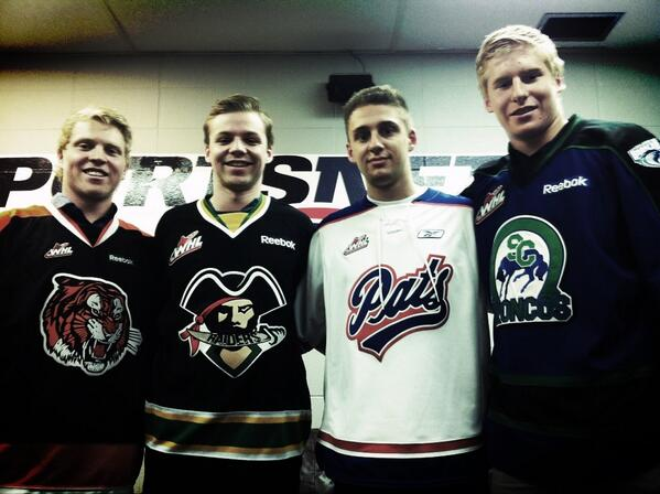 Calgary has four high-end prospects set to hit the NHL draft floor. (image credit to Fan960's Andrew Walker)