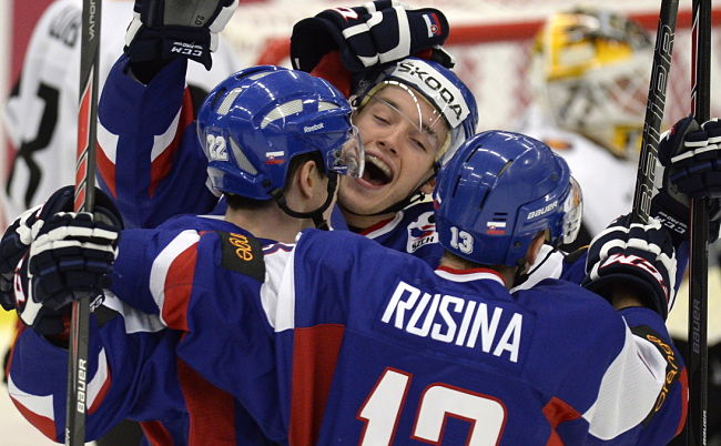WJC: 3 Stars - Slovakia's Marko Dano, Martin Reway Put On Scoring Display