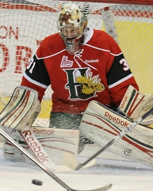 Halifax Mooseheads goalie Zachary Fucale (The Canadian Press)